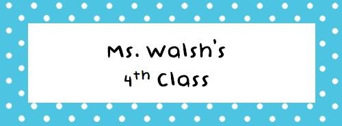 Ms. Walsh