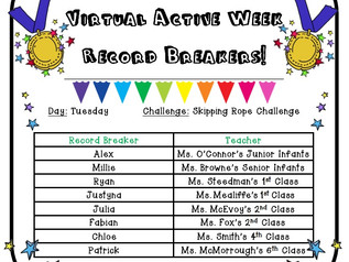 Tuesday's Records Breakers!