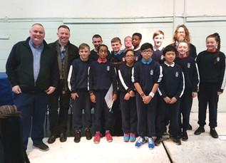 Irish Musicians visit school