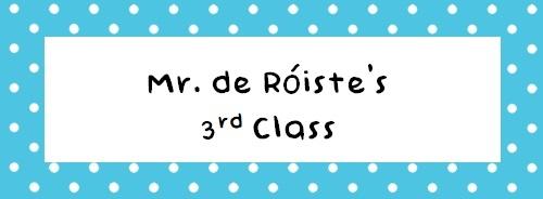 Mr. de Róiste