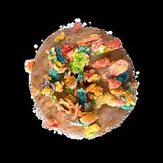 Fruity Pebble Doughnut