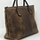 Thumbnail: American Alligator & Water Buffalo Tote with Rolled Handles.