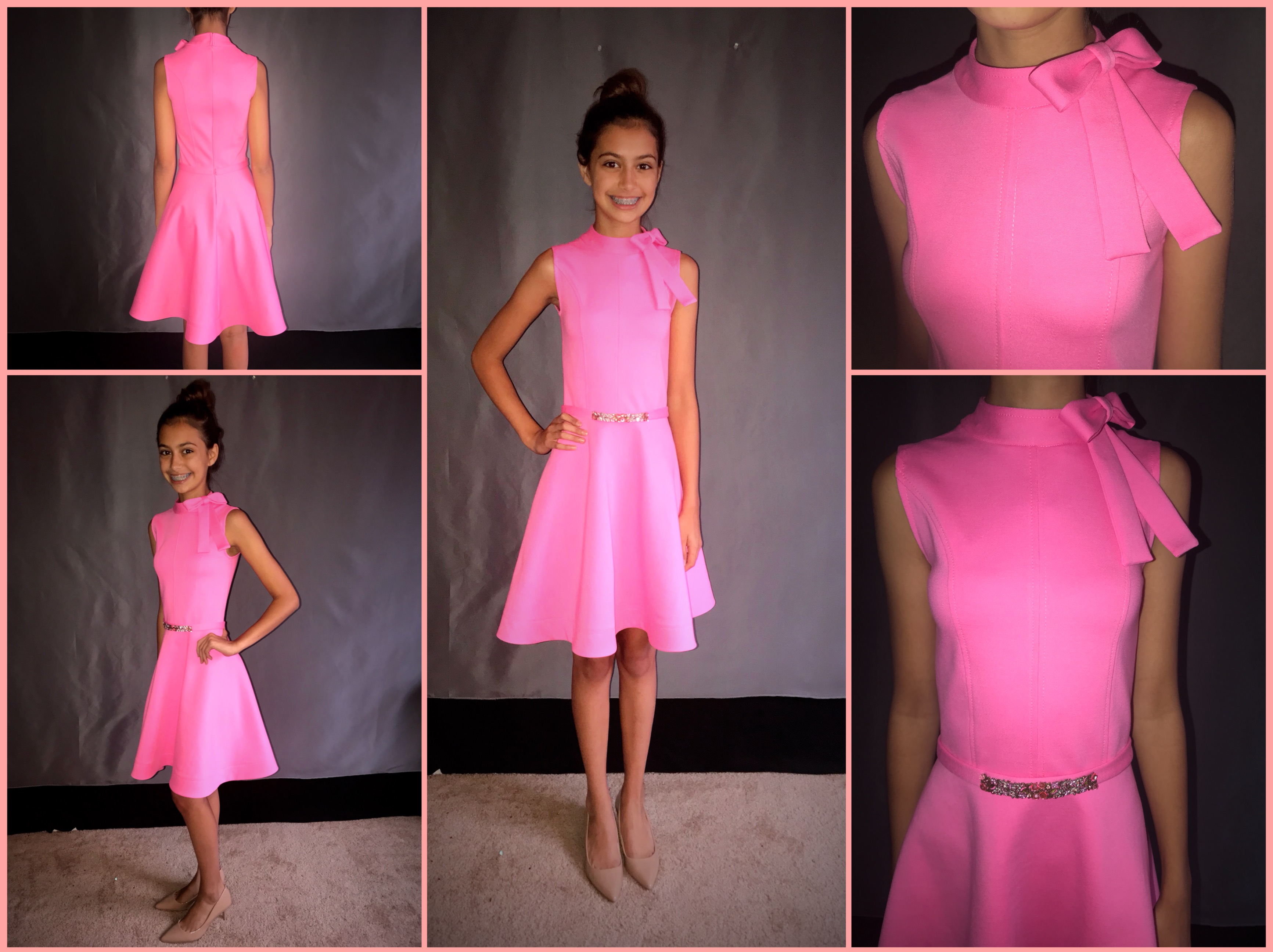 custom made pageant dress by seamstress Lena