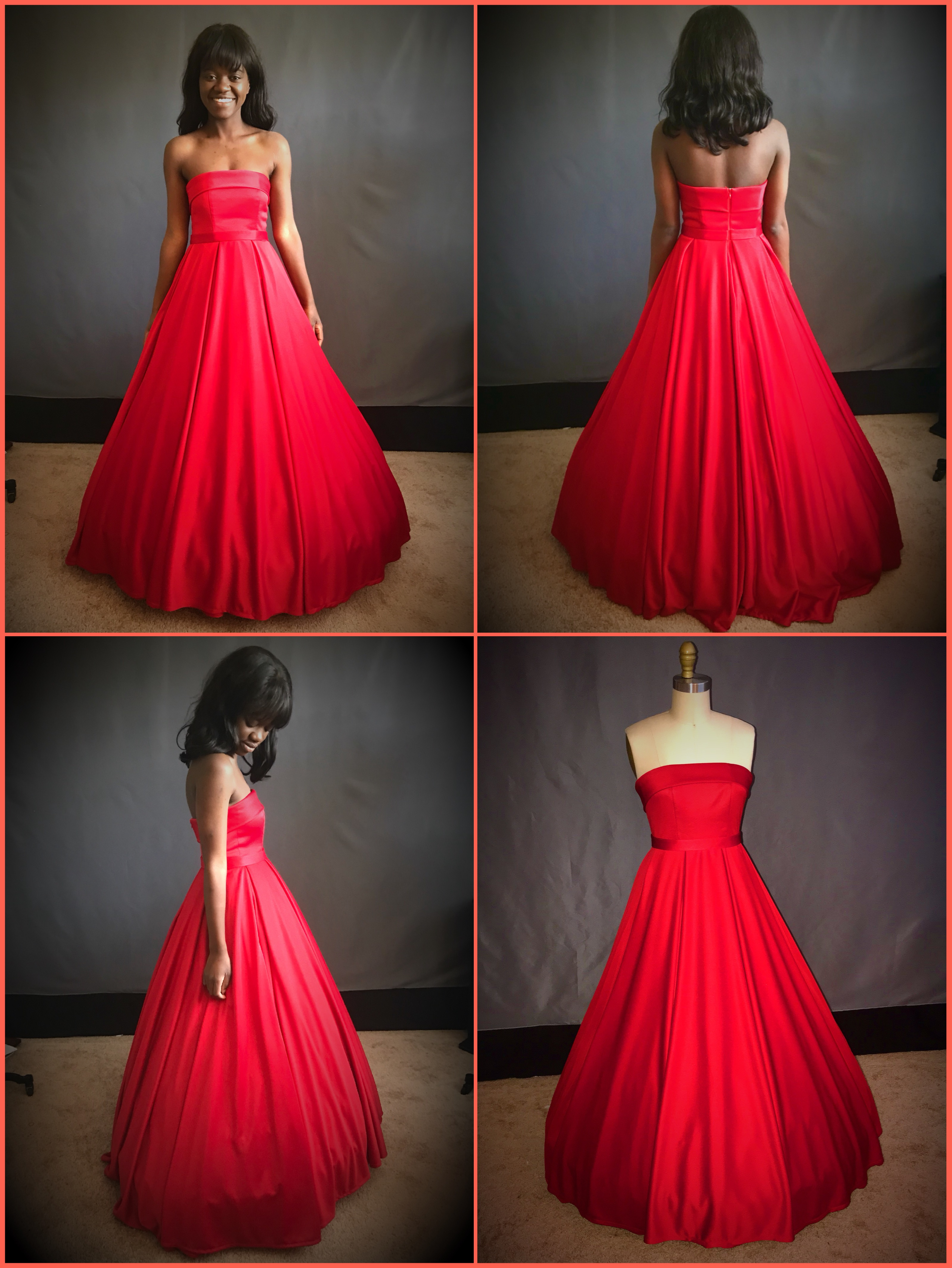 custom prom dress / seamstress