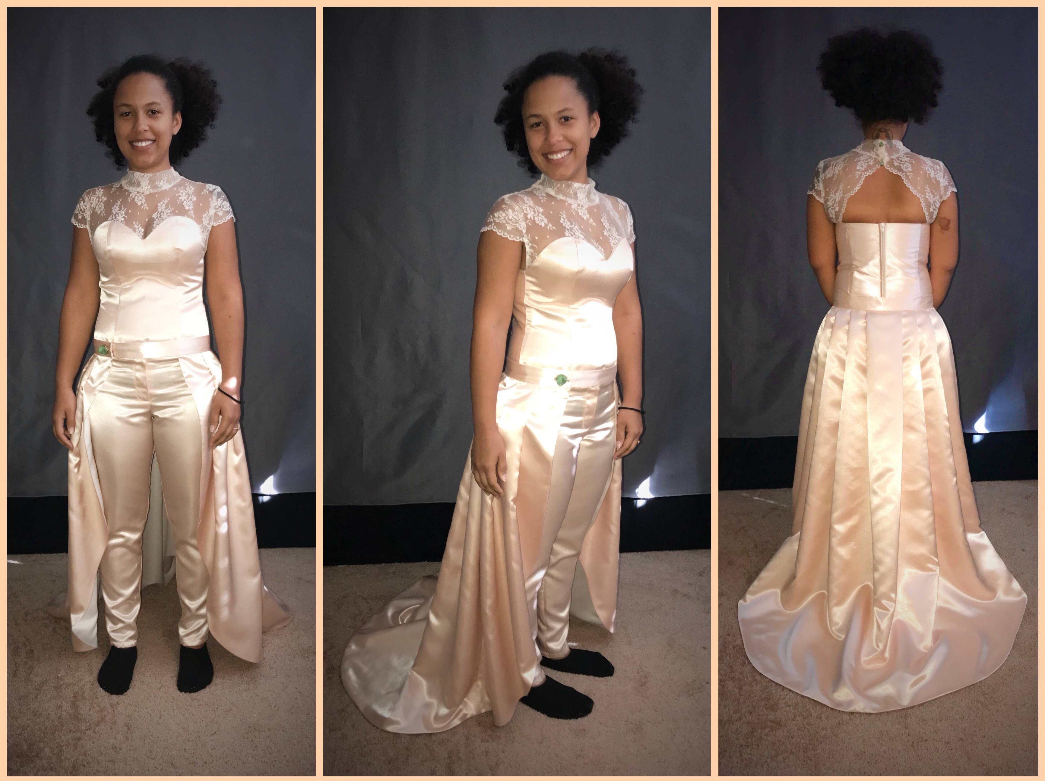 custom wedding outfit / seamstress
