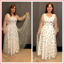custom made bridal shower dress by seamstress Lena in Orlando