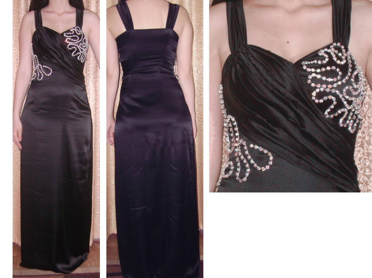 custom evening dress