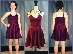 custom homecoming dress