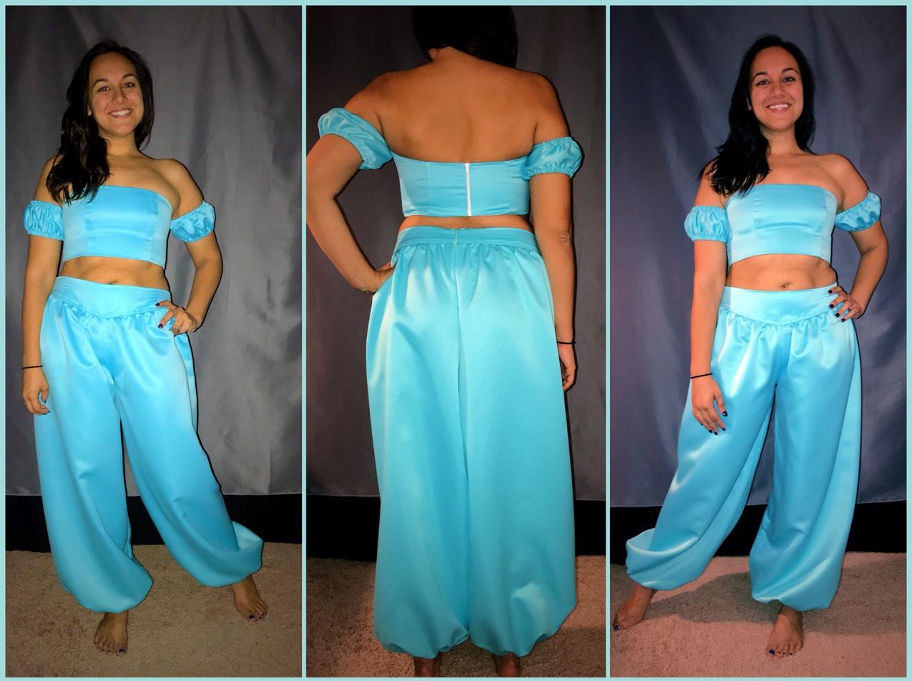 custom Jasmine costume