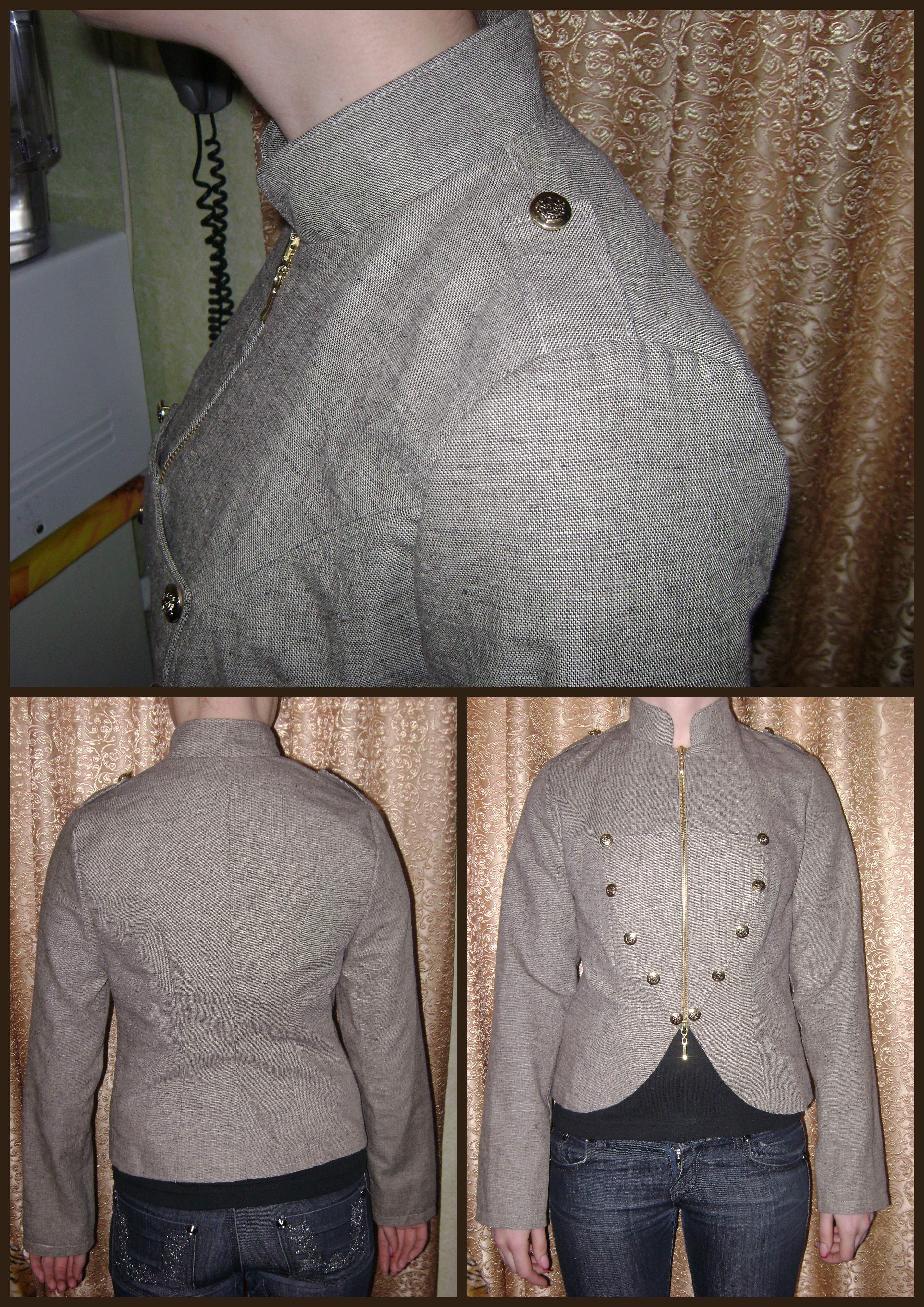 custom jacket / seamstress orlando