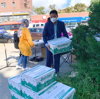 Helping Food Distribution