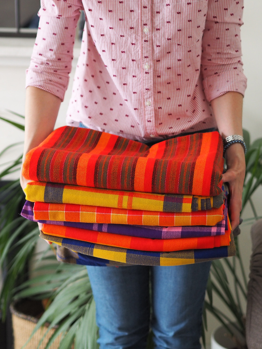 Traditional Masai Throw Blankets Available to Buy From Wild Home Online on Etsy