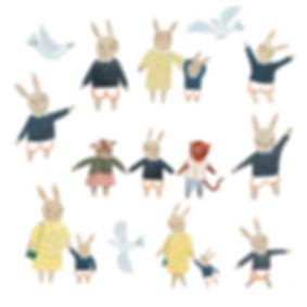 Bertie bunny Character Study 2019