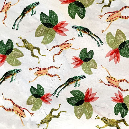 Frog Pattern 2019