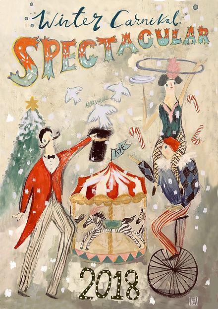 Rye Christmas Fetval Poster 2018