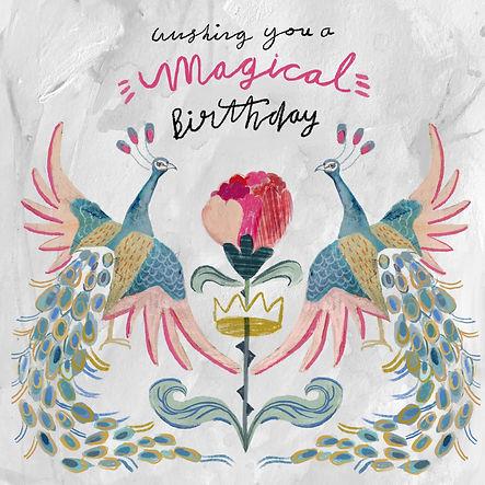 Birthday Card by Heidi Griffiths
