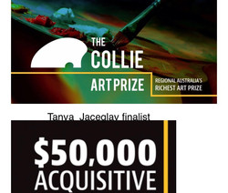 Finalist in the Collie art prize