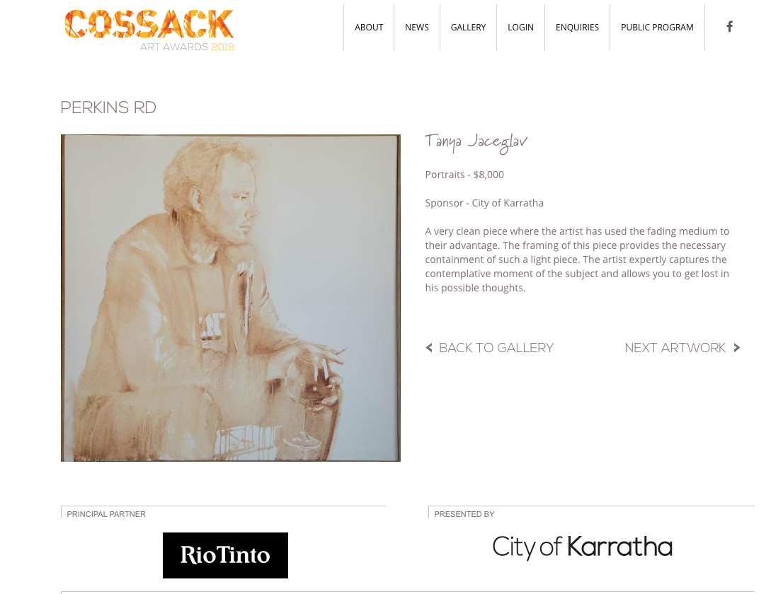 WINNER Cossack Art Award portraits
