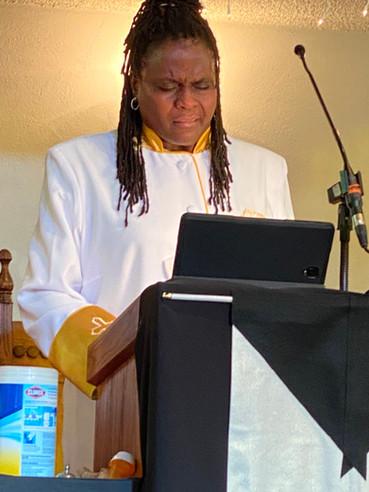 Reverend Lyn Andrews-Watkins