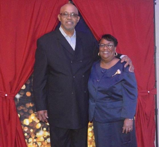 Brother Bob Hemphill charishes the amazing Sis Teresa