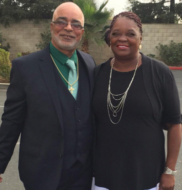 Brother Charlie Williams and his Lovely wife Deaconess Earnestine.