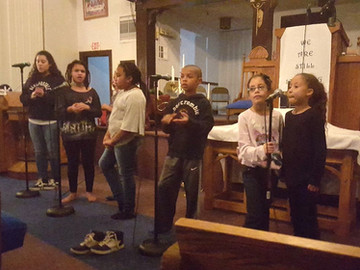 Youth rehearsal...something to remember.