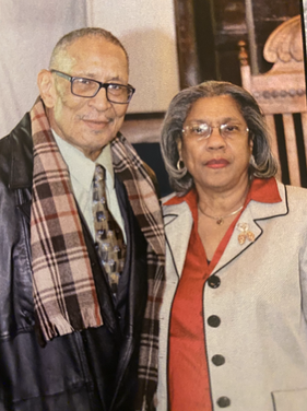 Reverend Singleton and his caring wife Sis Tina