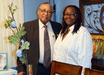 Pastor C. W. Andrews and his Helpmate 1st Lady Doris.