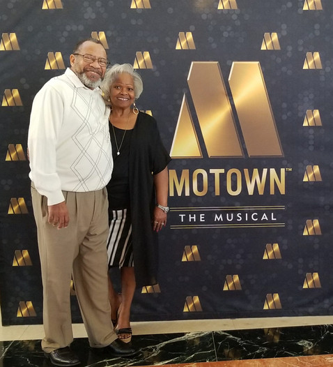 Brother Willis Anderton out at a special event with his beautiful wife Sis Evelyn