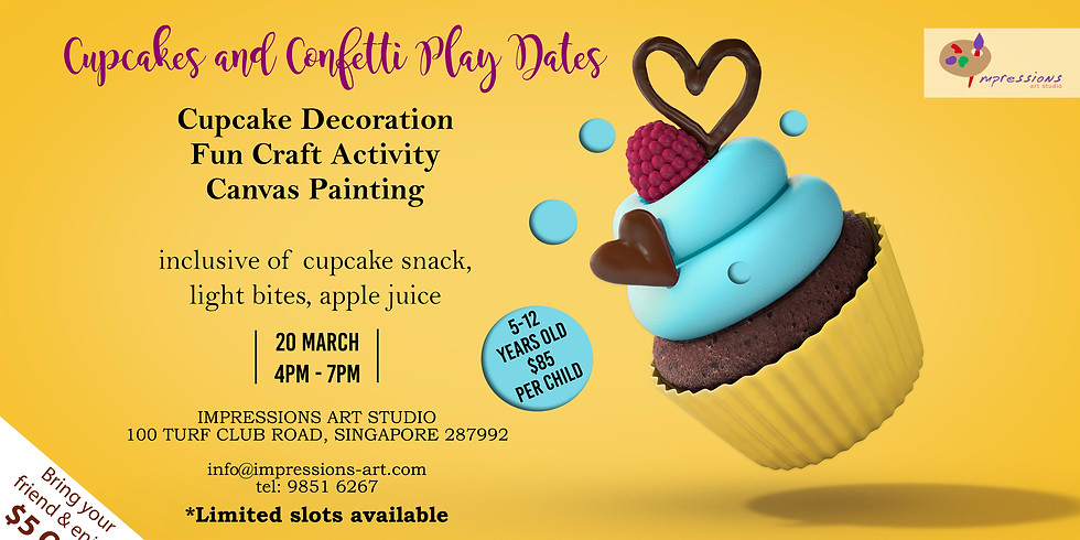 Cupcakes and Confetti Playdates