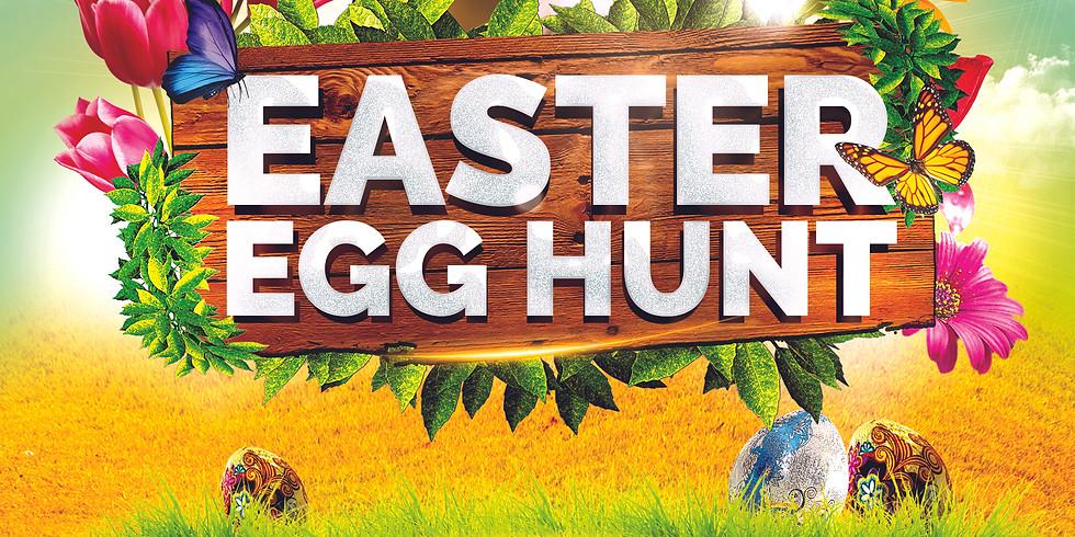 Easter Treasure Garden Hunt Fun