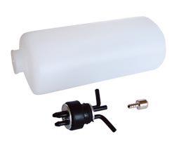 Tanque de combustível p/ glow e gas 135X51X62mm (3 tubos) 300ml Phoenix