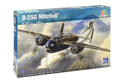 Kit para montar North American B-25G Mitchell - 1/48 - Italeri