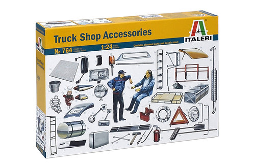 Kit para montar - Truck Shop Accessories - 1/24  Italeri