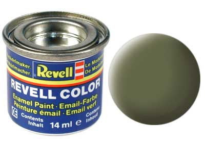 Tinta Revell  - Esmalte sintético - Verde escuro RAF - 14ml