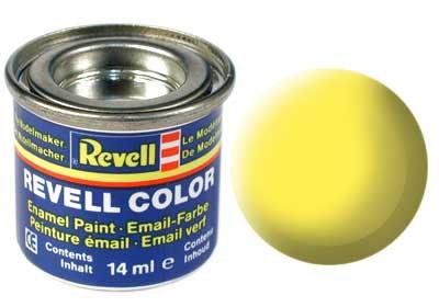 Tinta Revell - Esmalte sintético - Amarelo fosco - 14ml