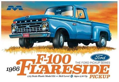 Kit para montar Ford pick Up  F-100 Flareside 1960 - Moebius