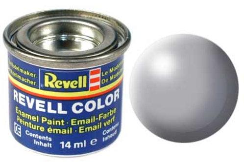 Tinta Revell para plastimodelismo - Esmalte sintético - Cinza seda - 14ml