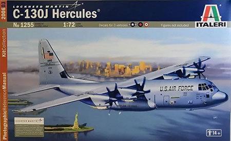 Kit para montar C-130J Hercules - 1/72 - Italeri