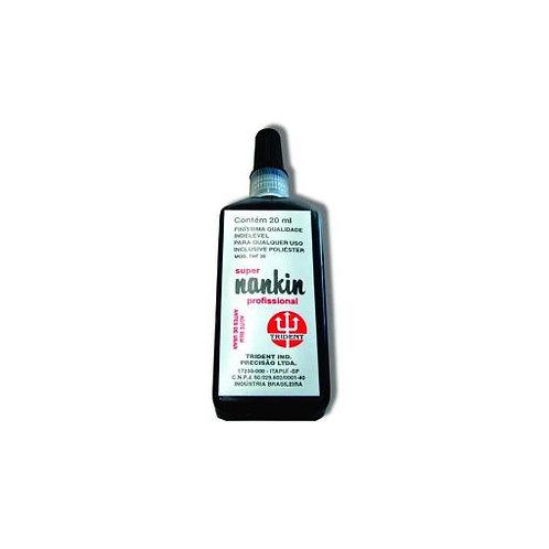 Tinta para Caneta Nanquim Frasco 20ML - Trident