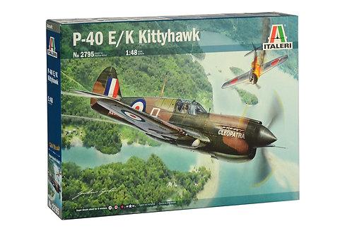 Curtiss P-40 E/K Kittyhawk - 1/48 - Italeri