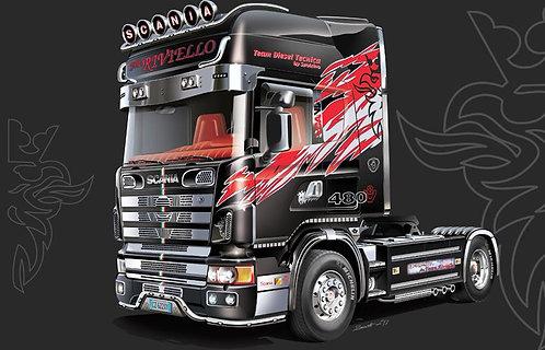 Kit para montar Cavalo mecânico Scania 164L Topclass - 1/24 - Italeri