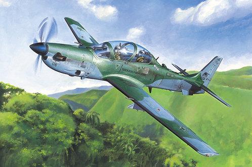 Kit p/ montar EMB-314 Super Tucano ALX/A-29 1/48 - Hobby Boss