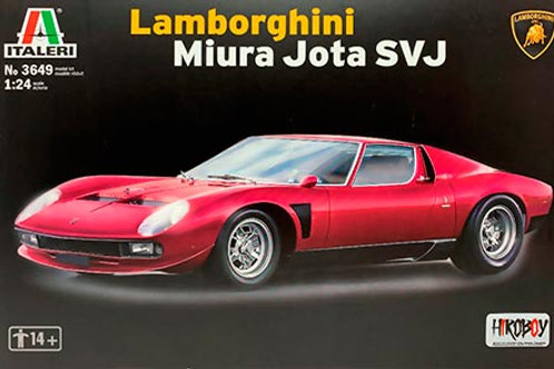 Kit para montar Lamborghini Miura Jota SVJ - 1/24 - Italeri
