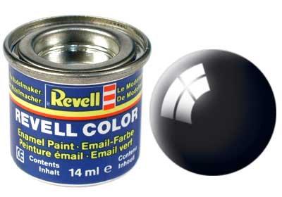 Tinta Revell Preto Brilhante - Esmalte sintético - 14ml