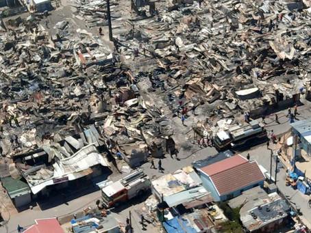 Khayelitsha Fires Oct 2018