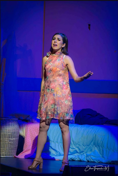Elsa en Julio El Musical