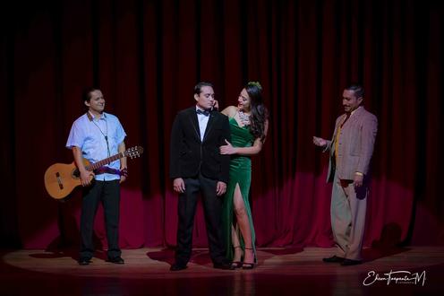 Fernando Vargas en Julio, el musical