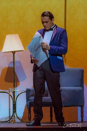 Fernando Vargas en su papel de Julio