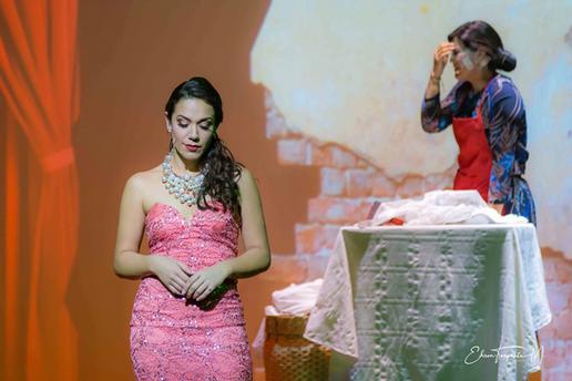 María Isabel Ortega como Coralía